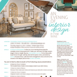 TD Wealth Interior Design Event Invitation