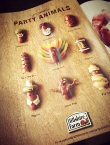 Clever Advertisement for Cocktail Wieners