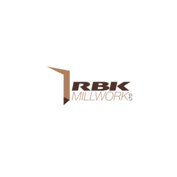 RBK Millwork Logo Design