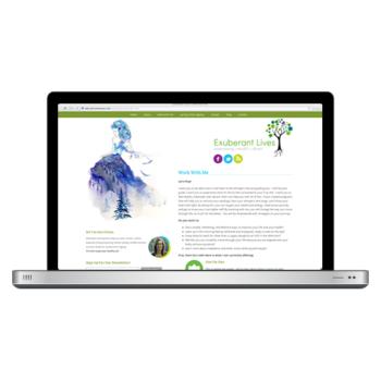 Exuberant Lives Website Design