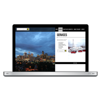 Platinum Ground Works Website Design