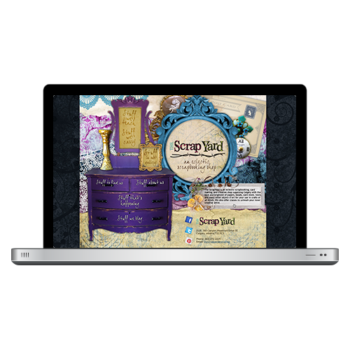 The Scrap Yard Website Design