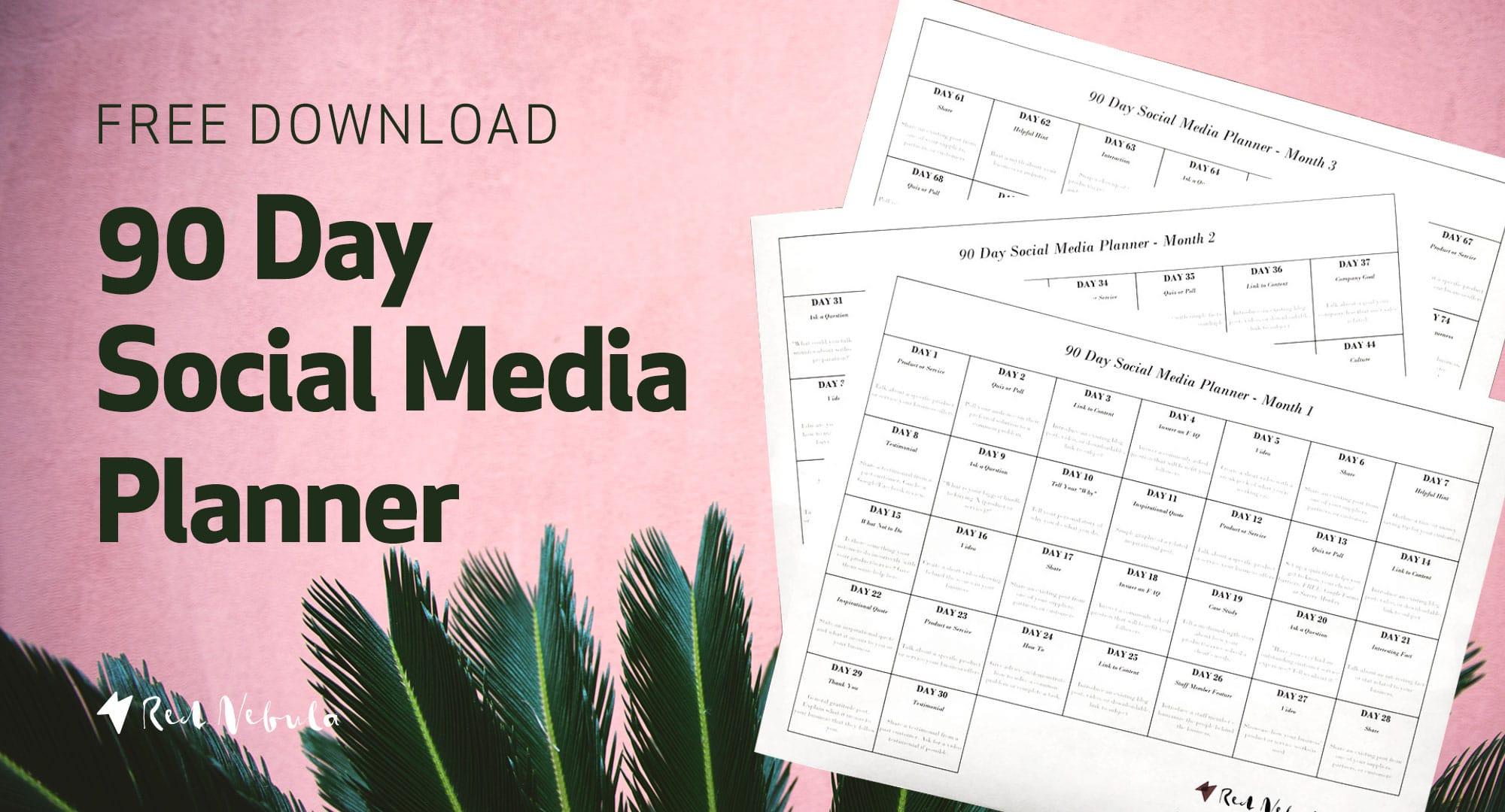 90-day-social-media-planner-graphic-summer
