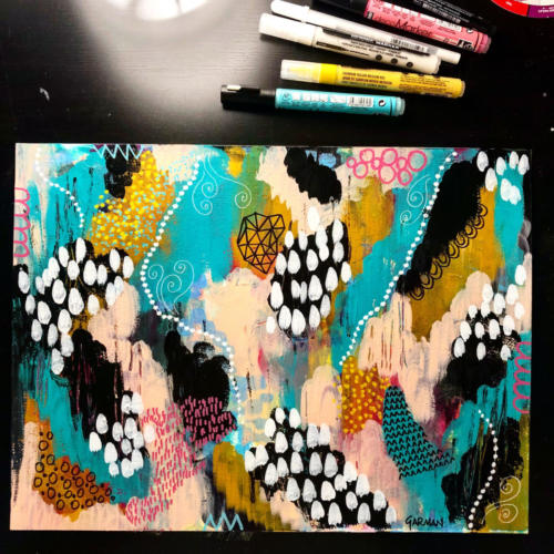 rednebula jenngarman 2018 12x16 dancing doodles1
