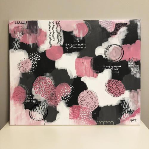 rednebula jenngarman 2018 16x20 pink doodles1
