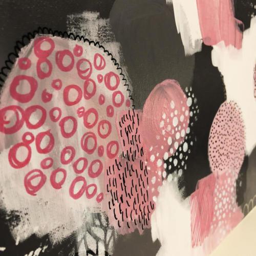 rednebula jenngarman 2018 16x20 pink doodles6